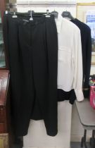 Louis Feraud fashion: to include a blouse; a skirt; and a pair of trousers approx. size 18