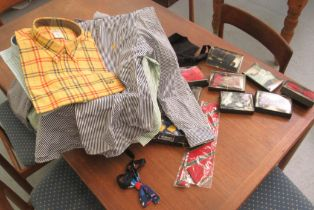 Gentleman's fashion, mainly shirts: to include examples by Carlo Filati, Ralph Lauren and Alain