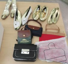 Ladies fashion accessories: to include a pair of Russell & Bromley shoes size 38.5