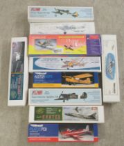 West Wings and other scale model kits: to include an unopened Spitfire MK 22/24 (completeness not