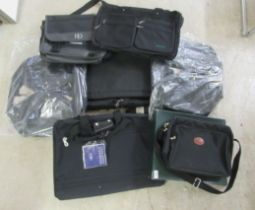 Sports bags and light travelling cases: to include a Longchamp of Paris satchel boxed
