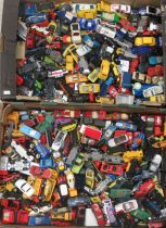 Uncollated diecast model vehicles, sports cars, convertibles, vans and emergency services: to