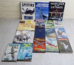 Books; aircraft related: to include 'Spitfire' by Alfred Price