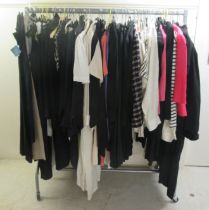 Ladies clothing: to include a Frank Usher black cocktail dress sizes XL