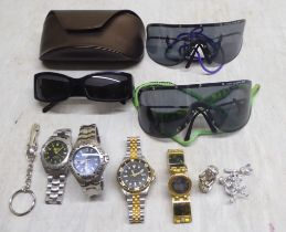 Items of personal ornament: to include two pairs of Porsche designer sunglasses; and a Roots of