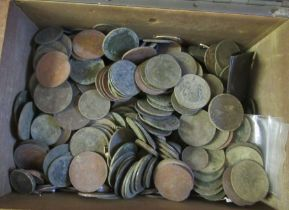 Uncollated coins: to include Victorian pennies