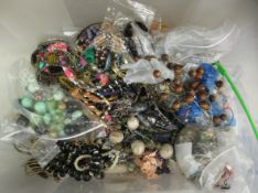 Costume jewellery and other items of personal ornament: to include bangles and necklaces