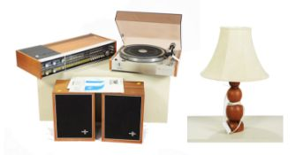 Philips - RH882 stereo, with speakers/ GA202 turntable/ table lamp