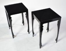 John Reeves for Reeve Design: pair of tables.