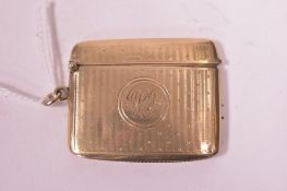 Gold vesta case