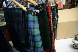 Kilts and trousers