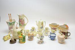 Household ceramics including tea service