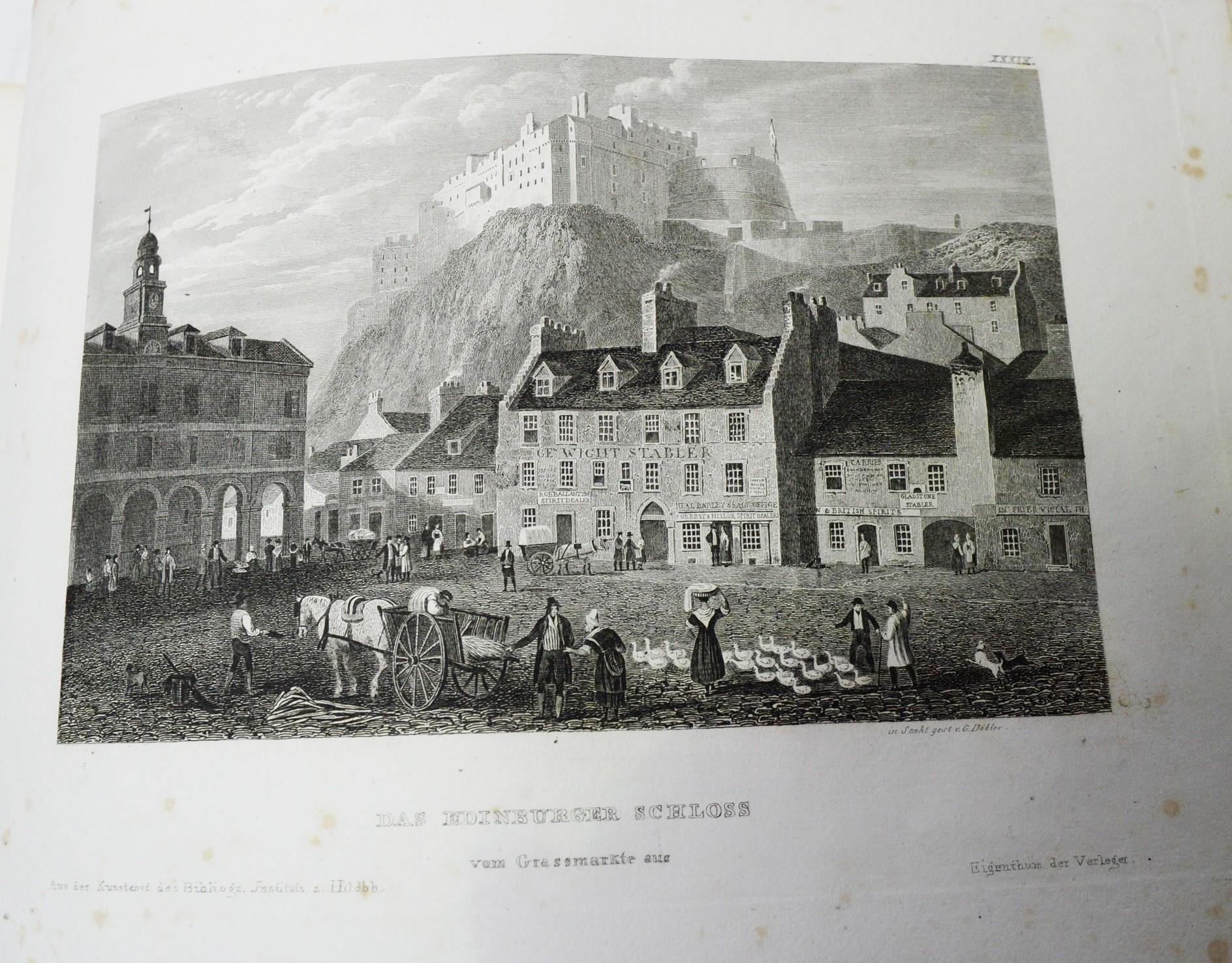 Meyer (Joseph) Meyer's Universum, Funfzehnter Band. - Image 2 of 4