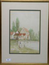 Victor Noble Rainbird - watercolour.