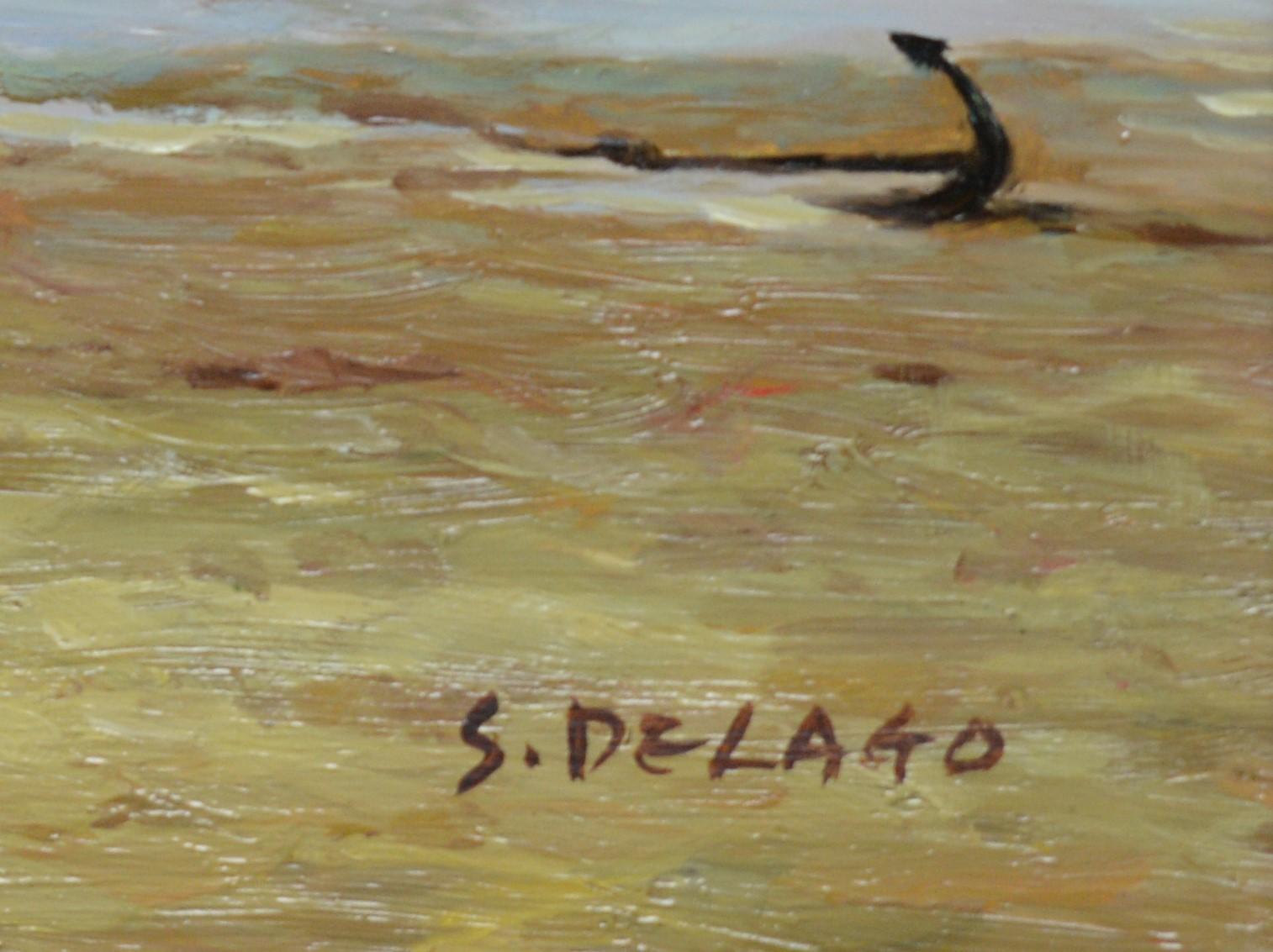 S* Delago - oil. - Image 2 of 3