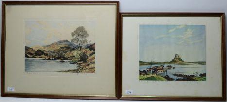 James Priddey - etchings.