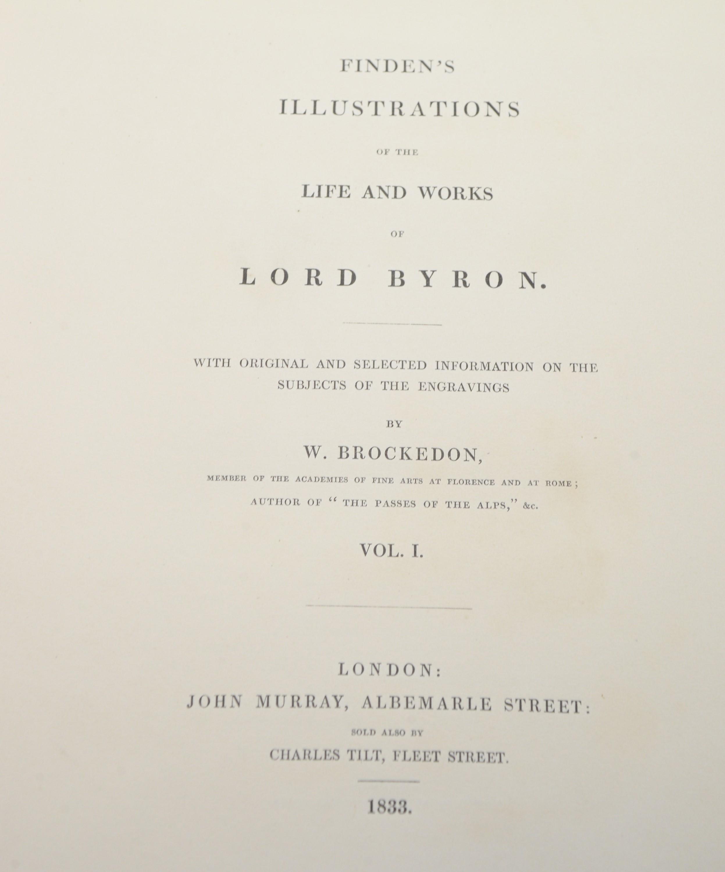 Brockedon (W.), and Lord Byron. - Image 5 of 5
