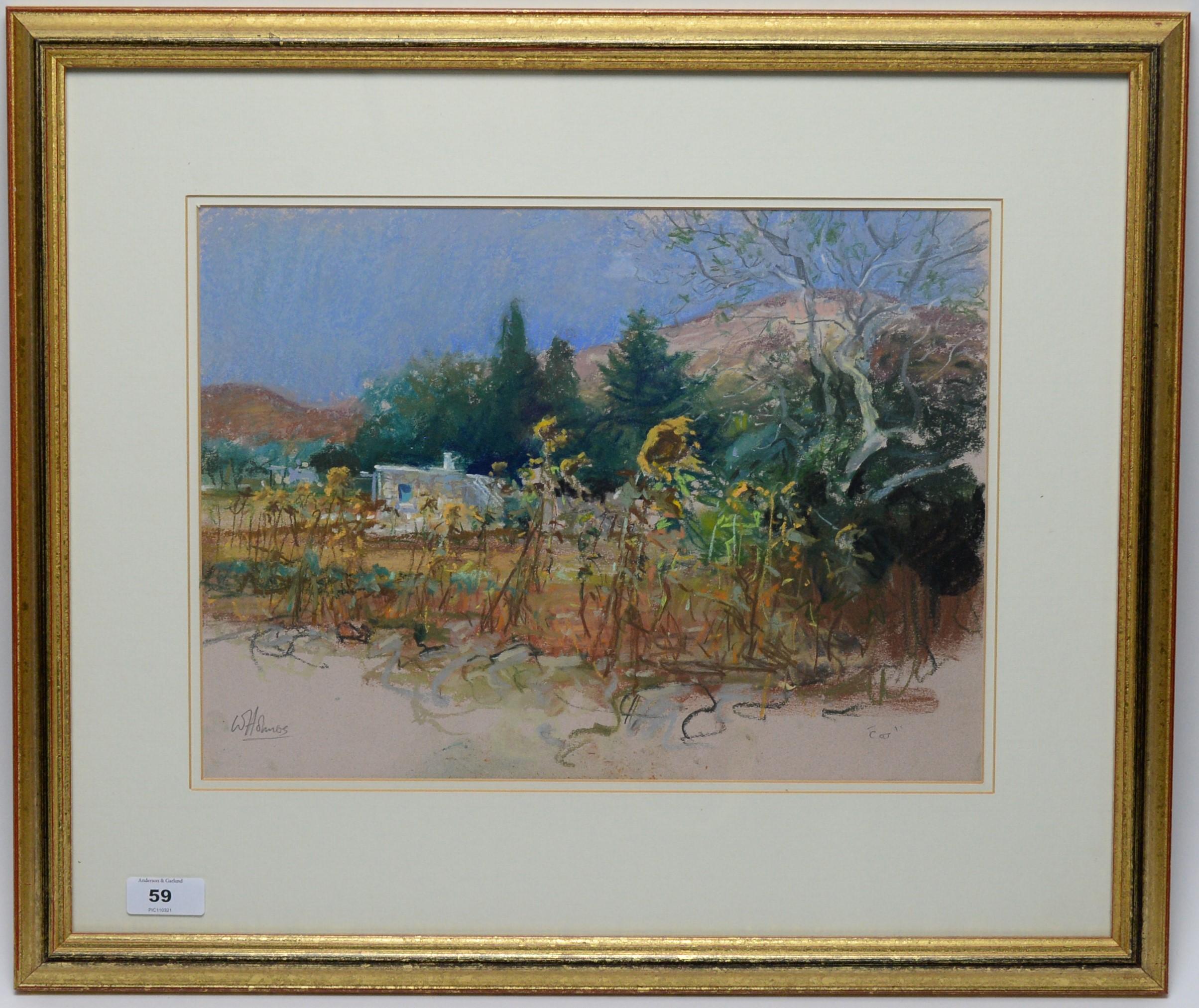 Walter Holmes - pastel.