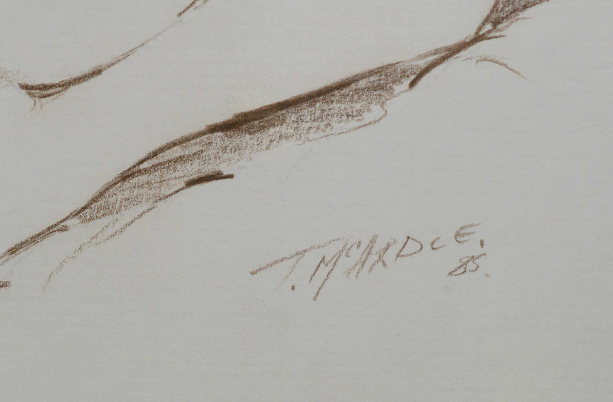 Terry McArdle -watercolour. - Image 2 of 3