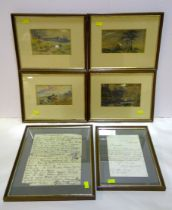 William Irving - sketchbook pages.