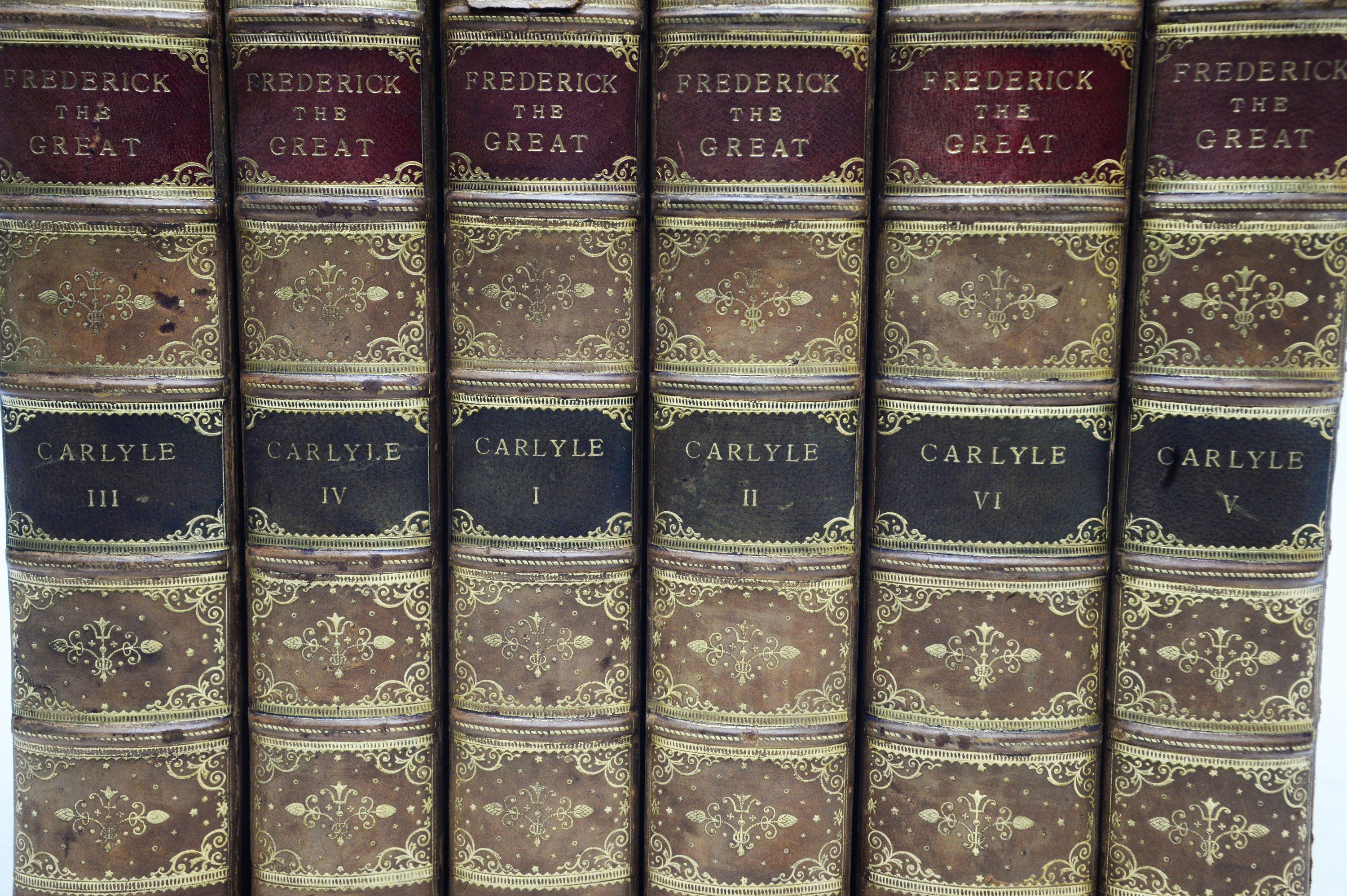 Carlyle (Thomas) History of Frederick The Great of Prussia. - Image 2 of 3