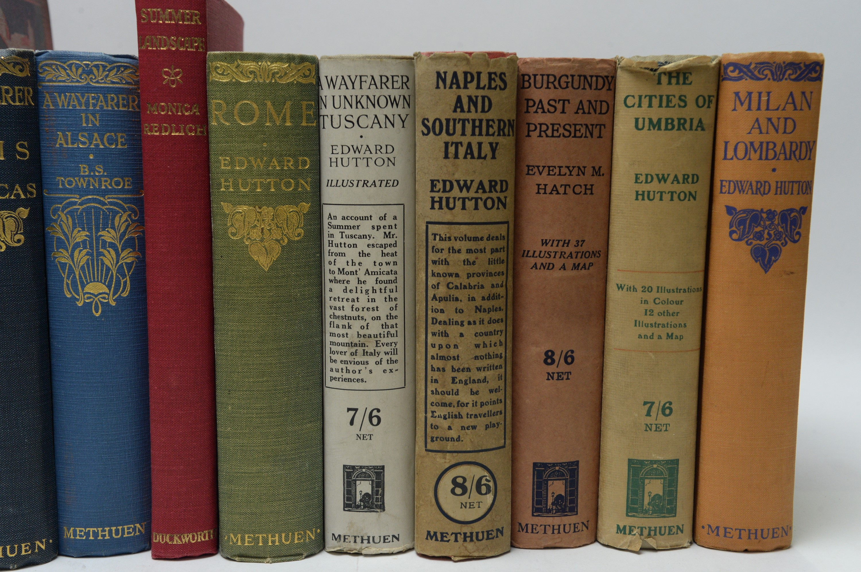 Hutton (Edward) and other Authors on European Travel. - Image 3 of 5