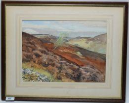 William E* Rees - watercolour.