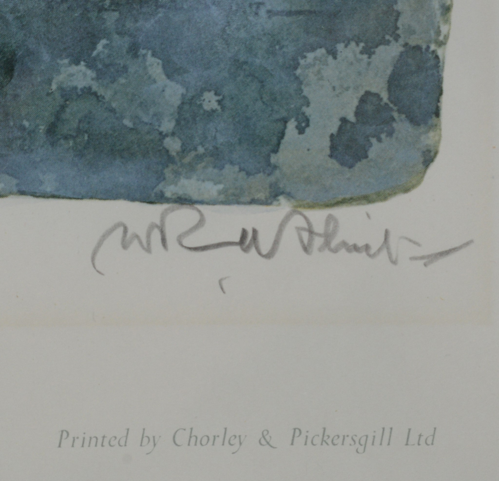 Sir William Russell Flint - limited edition. - Image 2 of 3