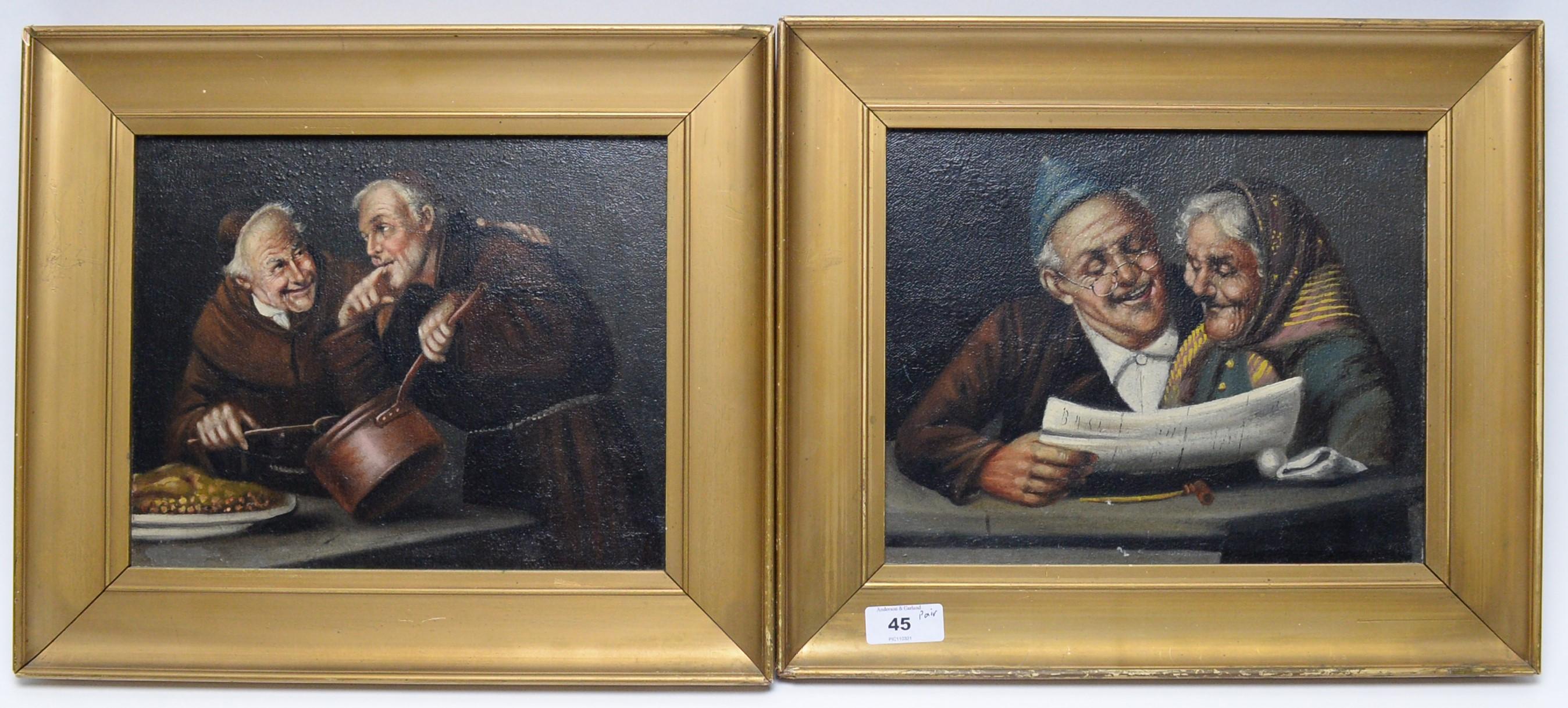 Late 19thC/early 20thC Dutch School - oils.