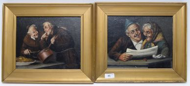 Late 19thC/early 20thC Dutch School - oils.