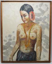 Artist Unknown 20th C - oil.
