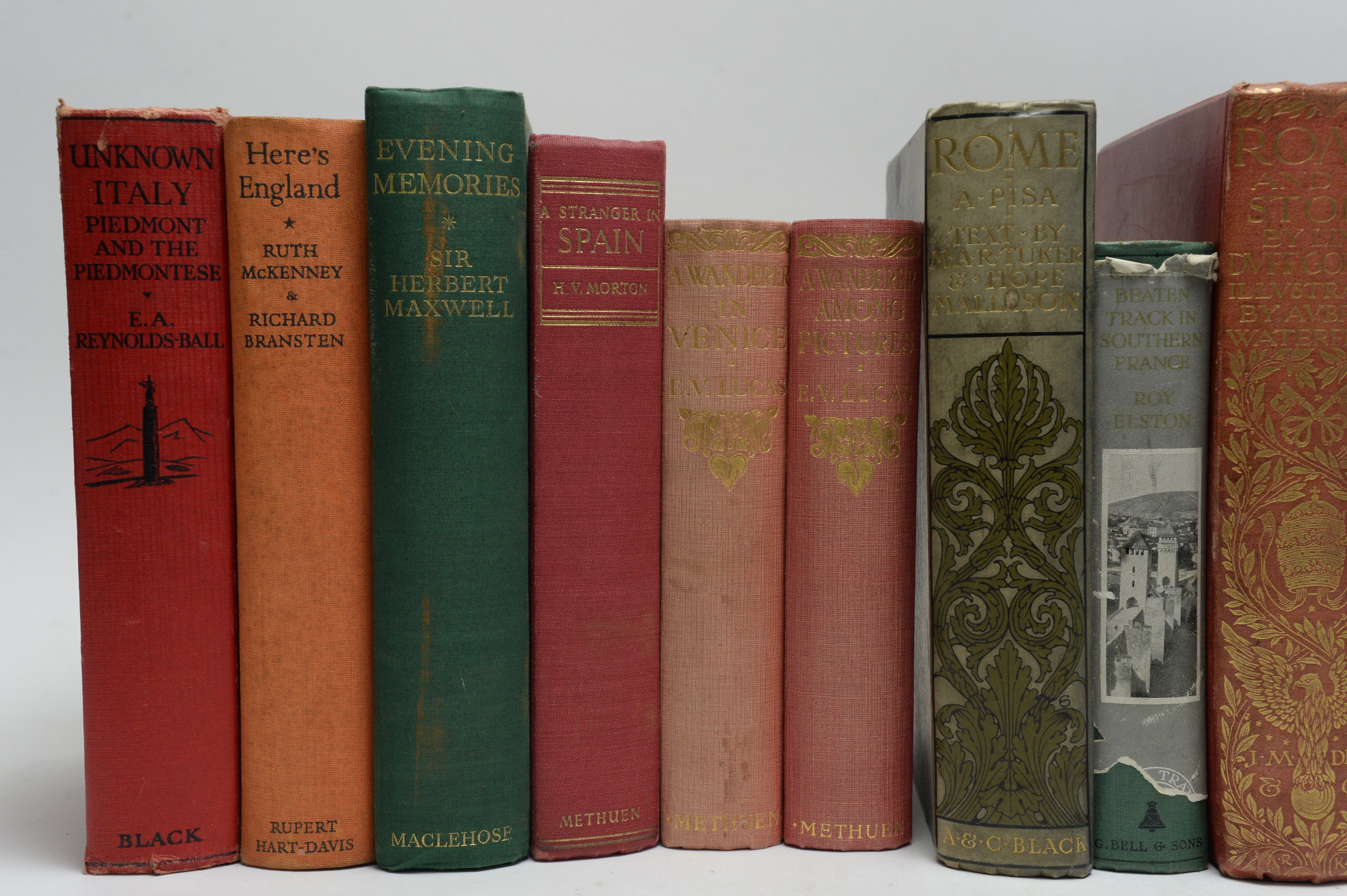 Hutton (Edward) and other Authors on European Travel. - Image 2 of 5