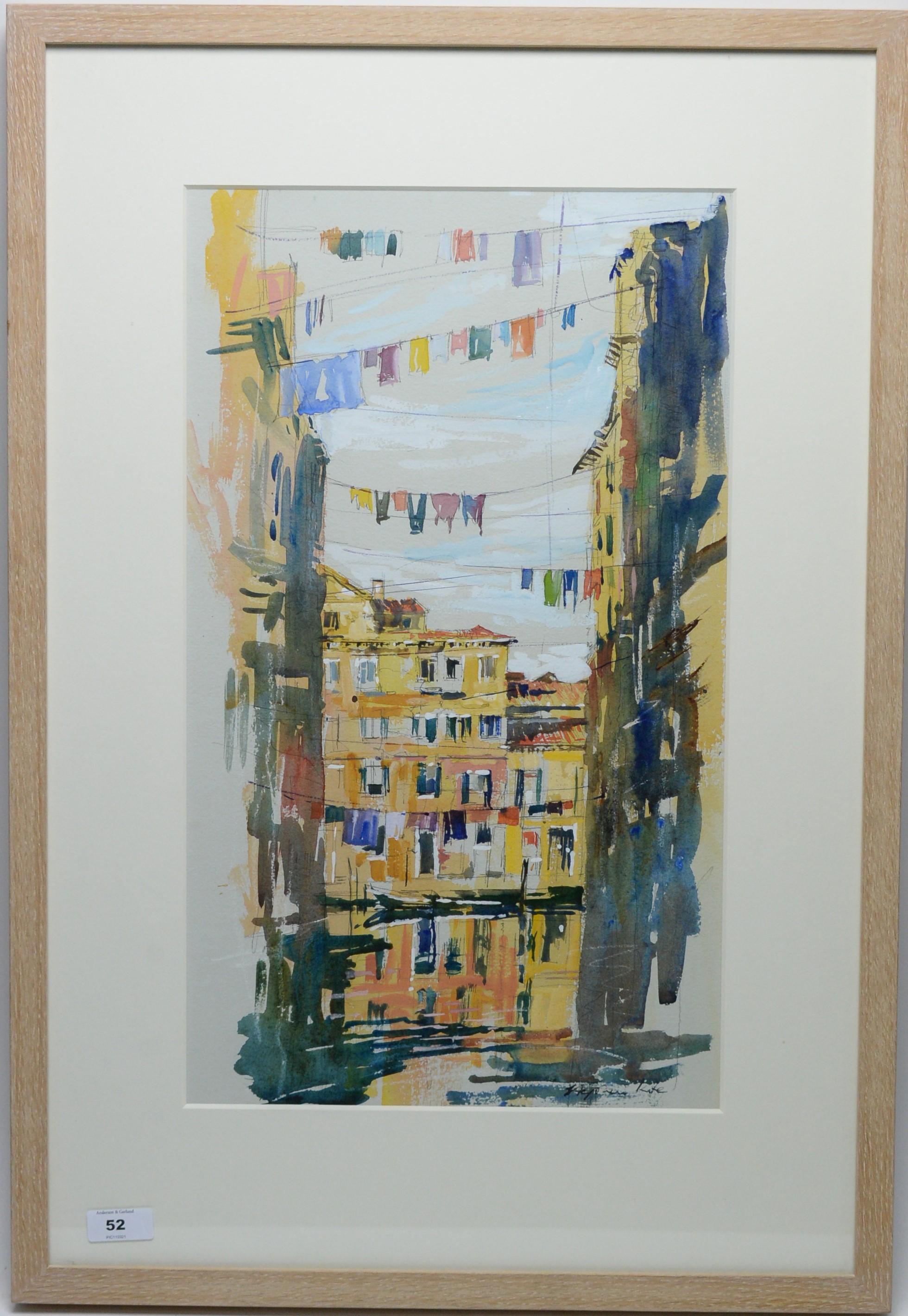 Stephen Kite - watercolour.
