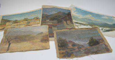 William Stanley Moore - oils.