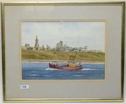 Lewis W* Thomson - watercolour.