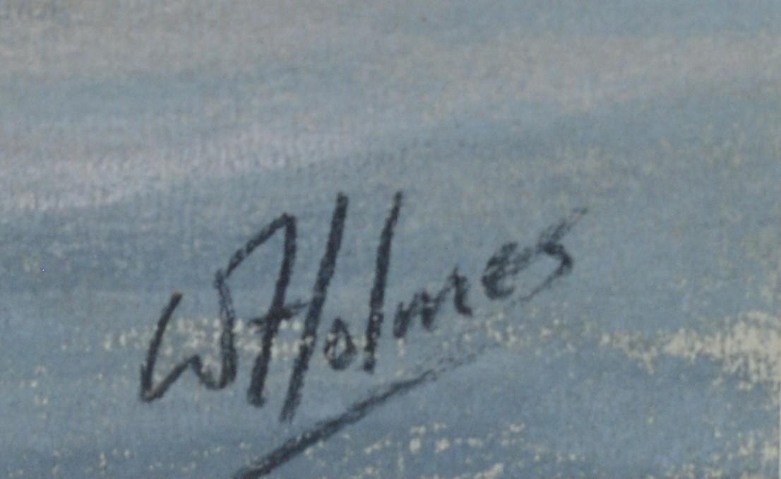 Walter Holmes - pastel. - Image 3 of 4