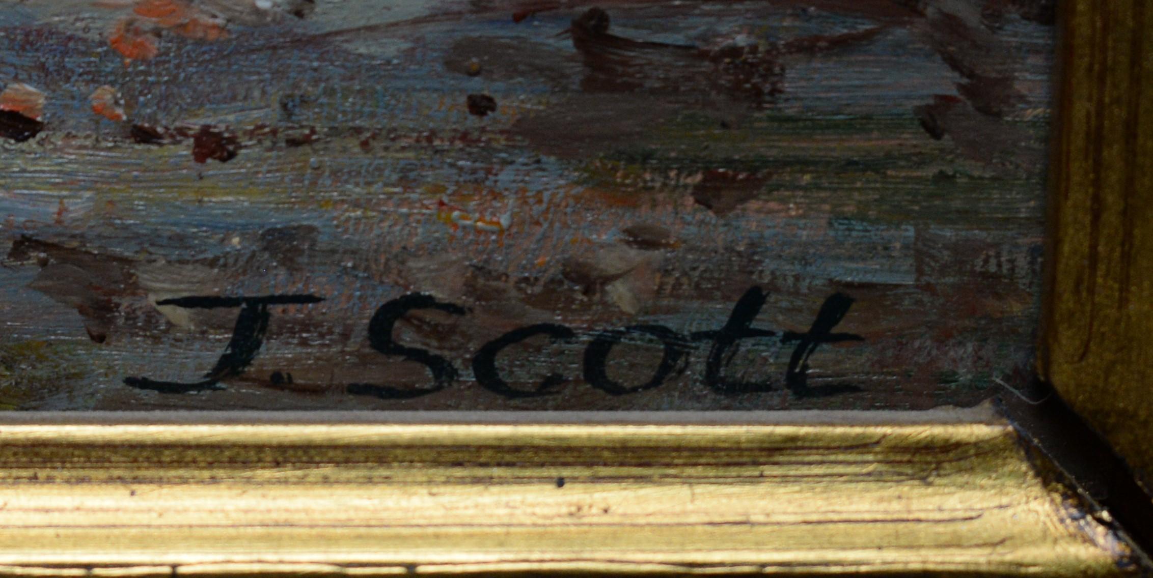 J* Scott - oil. - Image 3 of 4