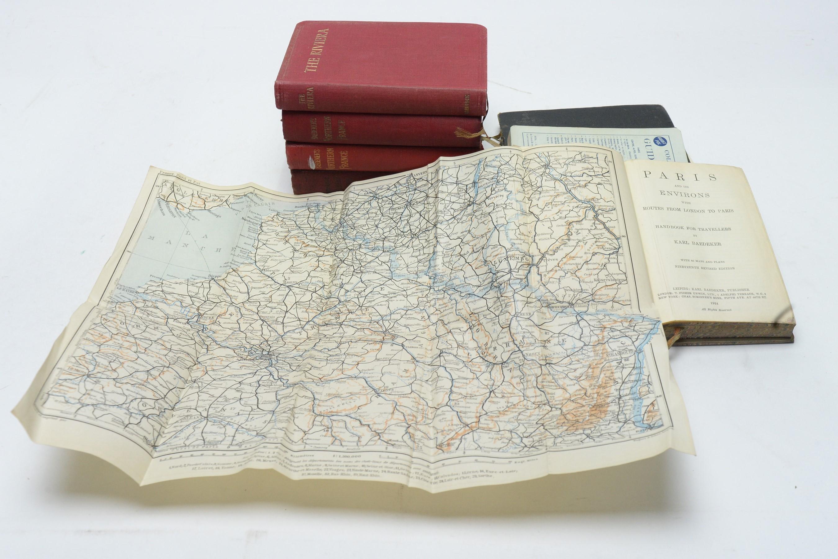 Baddeker (Karl) Travel Guides.