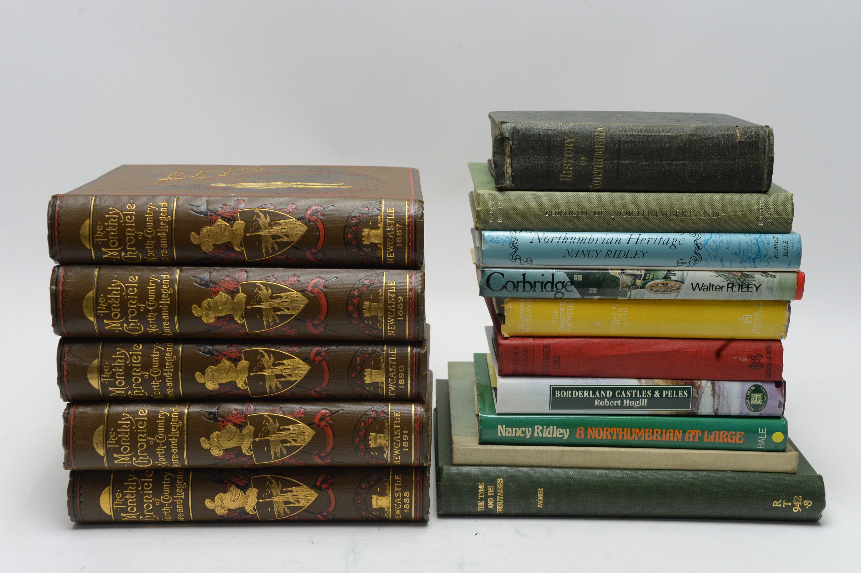 The Monthly Chronicle of North-Country Lore and Legend; and other books. - Image 2 of 3