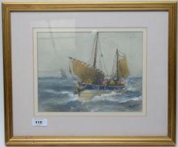 Tom McDonald - watercolour.