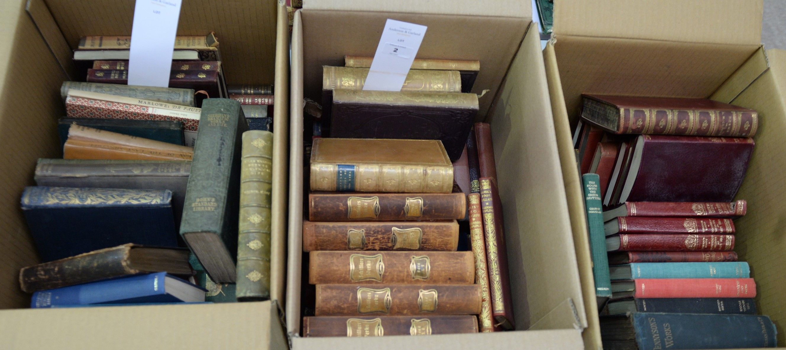 General Literature, novels, classics and poetry, various authors.