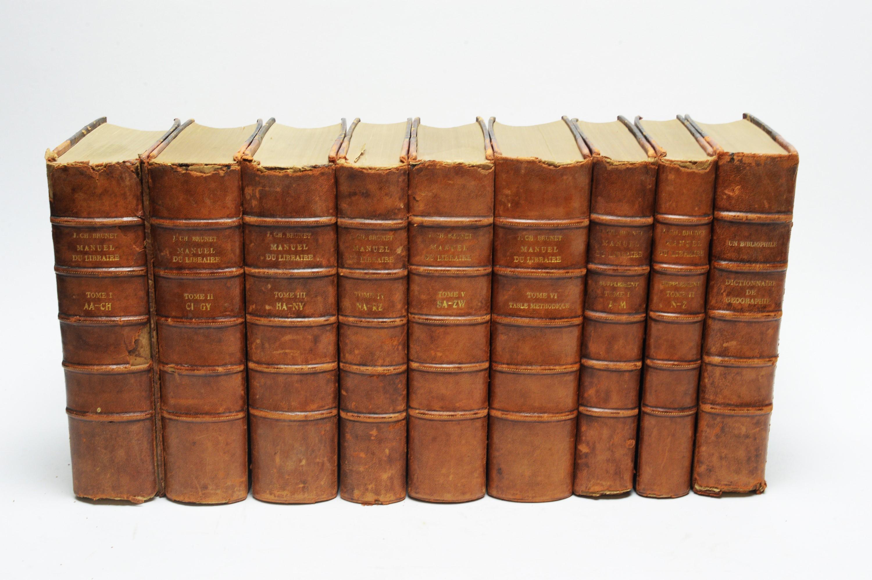 Brunet (Jacque) - book.