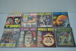 Vampirella by Warren; and other comics.