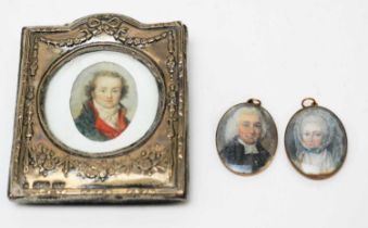 Continental School and British School, 18th Century - miniatures