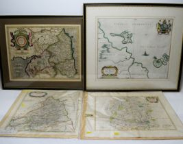 Various Artists - coloured engravings.