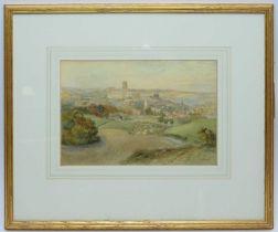 Richard Henry Wright - watercolour