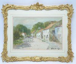 Thomas Swift Hutton - watercolour