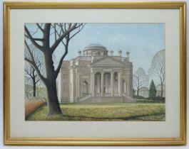 A* Bates - watercolour