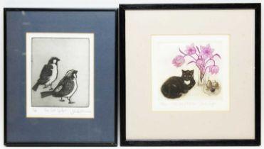 Sheila Stafford and J* Wills - Prints