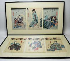 Kuniyoshi - woodblock prints